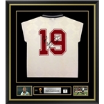 Paul Gascoigne Signed and Framed England Jersey