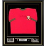 Eusebio Signed and Framed Portugal Jersey