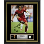 Luis Figo Signed Portugal Photo