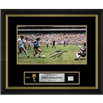 Diego Maradona Signed Argentina Photo