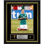 Javier 'Chicharito' Hernandez Signed Mexico Photo