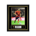 Juan Mata Signed Spain Photo