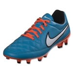 Nike Tiempo Genio Leather FG (Neo Turquoise/White)