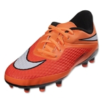 Nike Hypervenom Phelon Junior FG (Hyper Crimson/White)