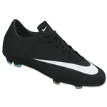 Nike Mercurial Victory V CR FG Junior (Black/White/Hyper Turquoise)