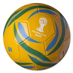 2014 FIFA World Cup Brazil Copacabana Ball (Yellow)