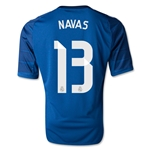 Real Madrid 14/15 NAVAS Home Goalkeeper Jersey