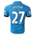 Stoke City 14/15 BOJAN Away Soccer Jersey