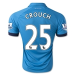 Stoke City 14/15 CROUCH Away Soccer Jersey