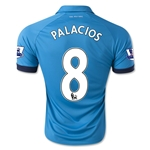 Stoke City 14/15 PALACIOS Away Soccer Jersey