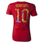 USA Donovan Women's T-Shirt (Red)