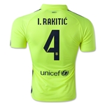 Barcelona 14/15 I. RAKITIC Authentic Third Soccer Jersey