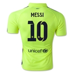 Barcelona 14/15 MESSI Authentic Third Soccer Jersey