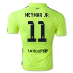 Barcelona 14/15 NEYMAR JR Authentic Third Soccer Jersey