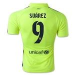 Barcelona 14/15 SUAREZ Authentic Third Soccer Jersey