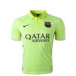 Barcelona 14/15 Youth Third Soccer Jersey