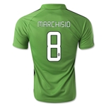 Juventus 14/15 MARCHISIO Third Soccer Jersey