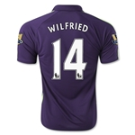 Manchester City 14/15 WILFRIED Third Soccer Jersey