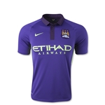 Manchester City 14/15 Youth Third Soccer Jersey