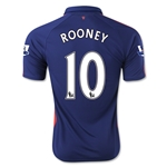 Manchester United 14/15 ROONEY Third Soccer Jersey