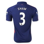 Manchester United 14/15 SHAW Third Soccer Jersey