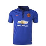 Manchester United 14/15 Youth Third Soccer Jersey