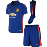 Manchester United 14/15 Third Boys Kit