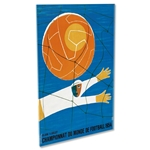 1954 FIFA World Cup Switzerland Poster Acrylic Print