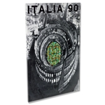 1990 FIFA World Cup Italy Poster Acrylic Print