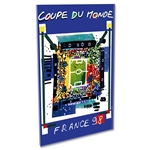 1998 FIFA World Cup France Poster Acrylic Print