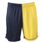 Wreckless Lacrosse Daredevil Lacrosse 2-Toned Short (Navy/Yellow)