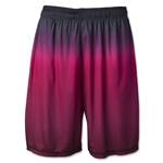 Wreckless Lacrosse Fade Short (Blk/Red)