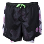 Wreckless Love by Wreckless Lacrosse Women's Argyle Short (Black)
