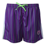 Wreckless Love by Wreckless Lacrosse Women's Pinstripe Short (Purple)