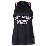 Wreckless Love by Wreckless Lacrosse Women's Reversible Tank (Black/Pink)