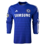 Chelsea 14/15 LS UCL Home Soccer Jersey