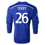 Chelsea 14/15 26 TERRY LS UCL Home Soccer Jersey