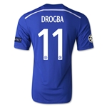 Chelsea 14/15 11 DROGBA UCL Home Soccer Jersey