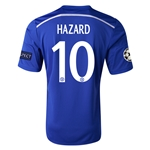 Chelsea 14/15 10 HAZARD UCL Home Soccer Jersey