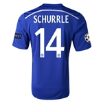 Chelsea 14/15 14 SCHURRLE UCL Home Soccer Jersey