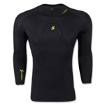 Storelli Bodyshield Compression Goalkeeper 3/4 Shirt (Black)