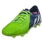 adidas Predator Instinct FG Junior (Rich Blue/Running White/Neon Green)