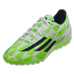 adidas F10 TF (Running White/Rich Blue/Neon Green)