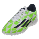 adidas F5 TF Junior (Running White/Rich Blue/Neon Green)