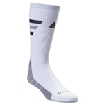 adidas Team Speed Traxion Crew Sock (White)