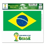 Brazil FIFA World Cup 2014(TM) 5 x 6 Decal