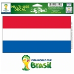Netherlands FIFA World Cup 2014(TM) 5 x 6 Decal