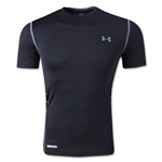 Under Armour HeatGear Sonic Fitted T-Shirt (Black)