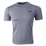 Under Armour HeatGear Sonic Fitted T-Shirt (Gray)