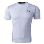 Under Armour HeatGear Sonic Fitted T-Shirt (White)